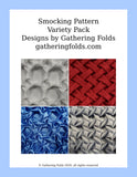 Starter Pack smocking patterns