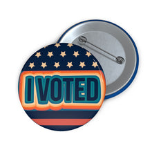 Load image into Gallery viewer, I Voted Pin