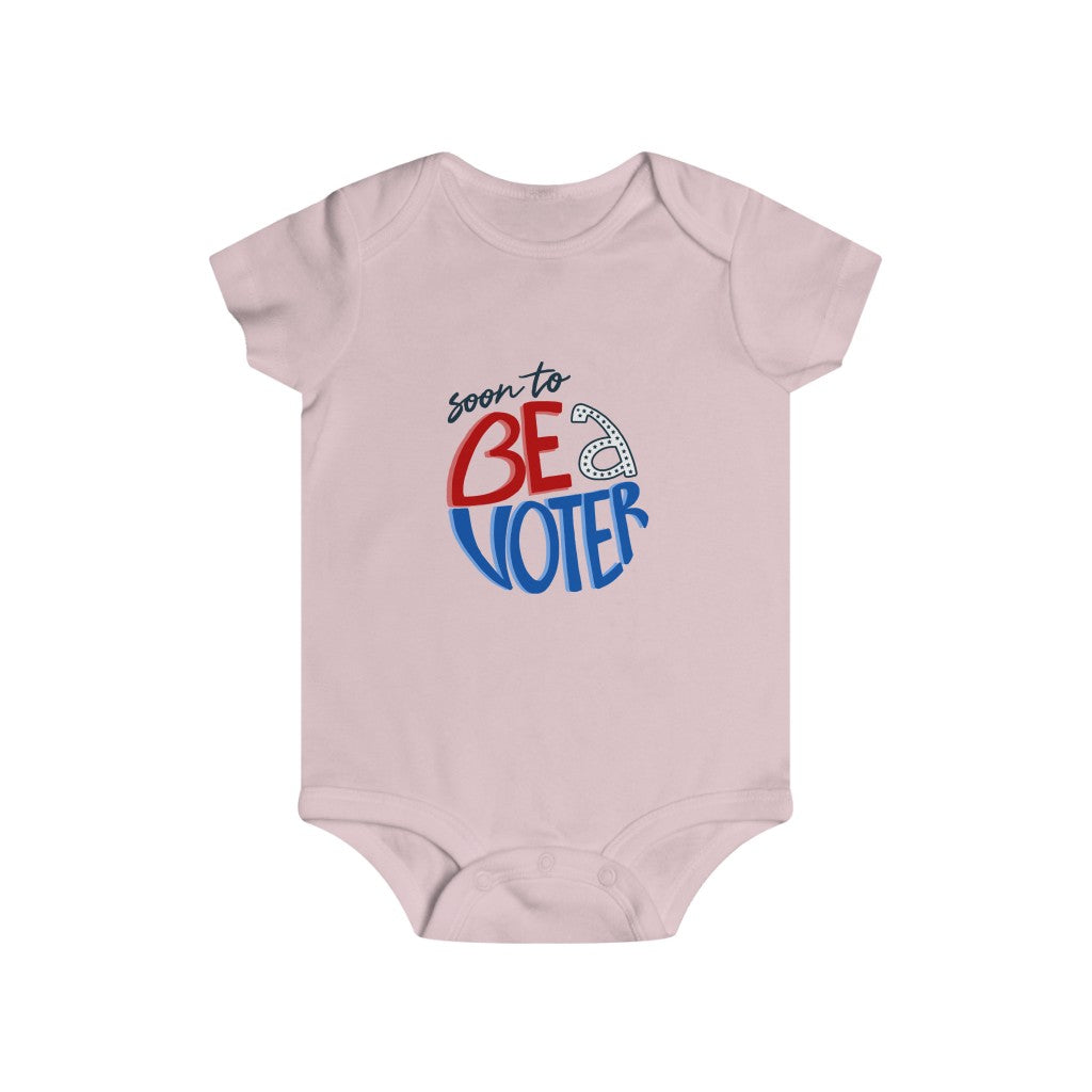 Be A Voter Infant Rip Snap Tee