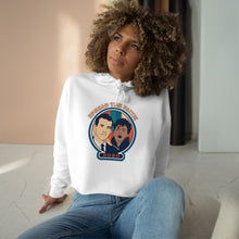 Load image into Gallery viewer, Joe & Kamala Crop Hoodie