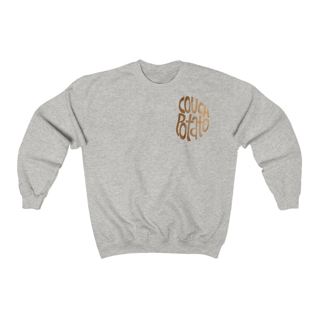 Couch Potato Unisex Crewneck Sweatshirt