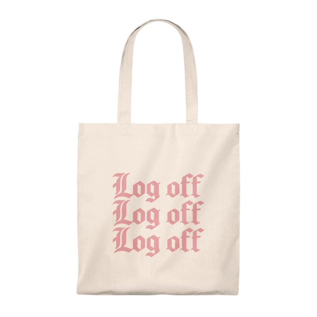 Log Off Tote