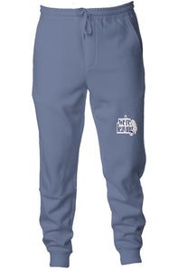 We're Leaving Early Pigment Dyed Fleece Joggers