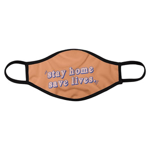 Stay Home Face Mask (4 Pack)