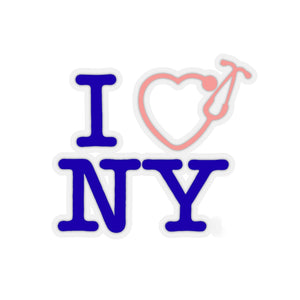 I Love NY Stickers