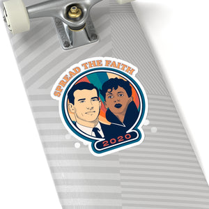 Joe & Kamala Stickers