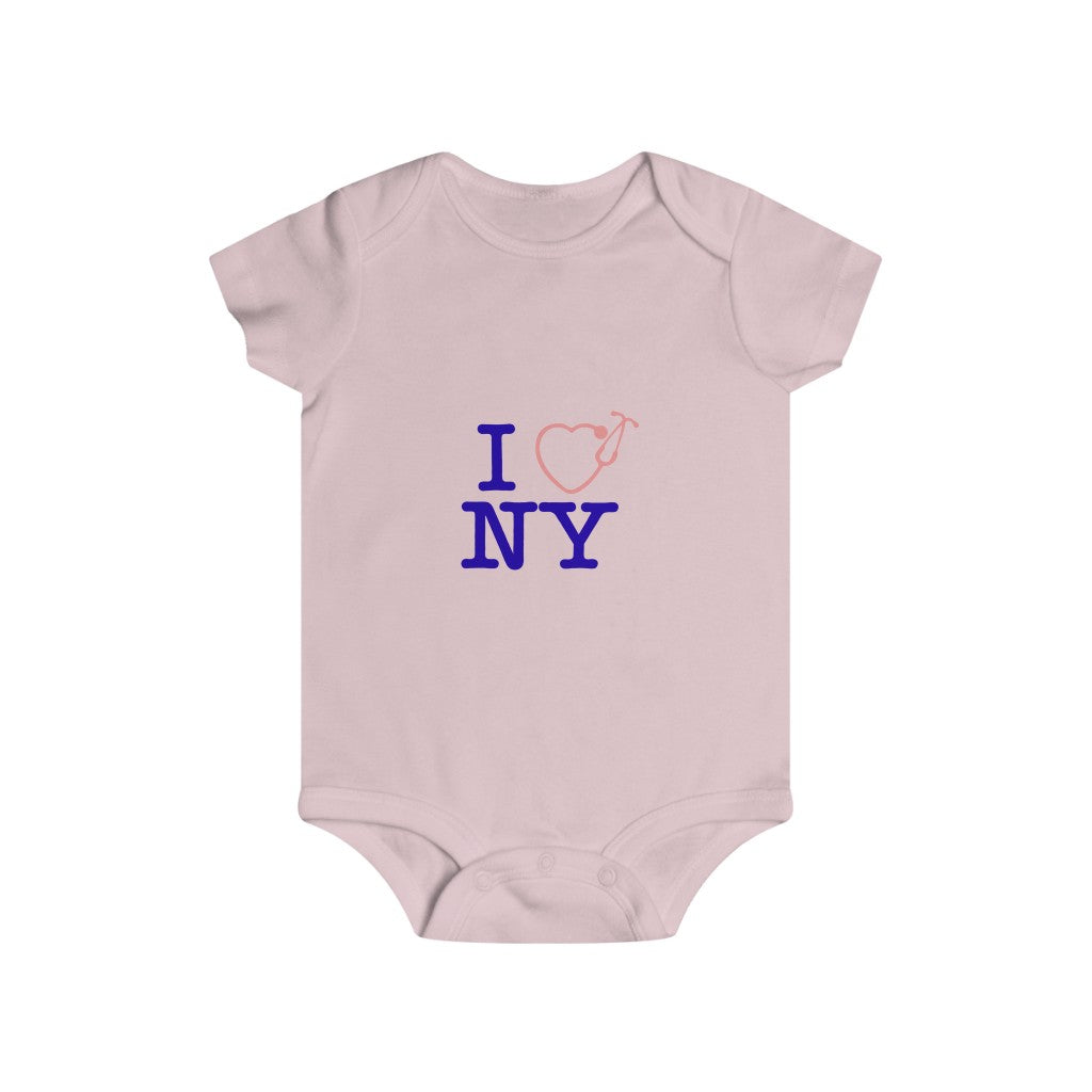 I Love nY Infant Rip Snap Tee