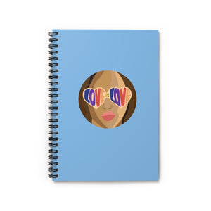Love Spiral Notebook