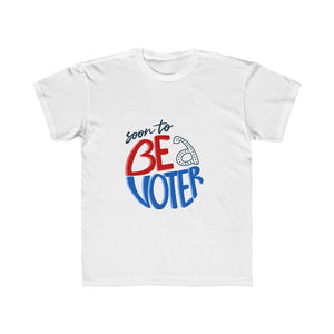 Be A Voter Kids Regular Fit Tee