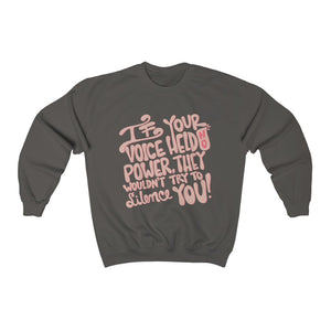 Voice Crewneck Sweatshirt