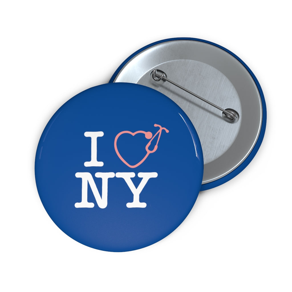 I Love NY Button