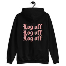 Load image into Gallery viewer, Log Off Unisex Hoodie