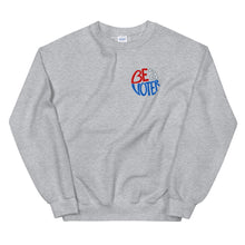 Load image into Gallery viewer, Be a Voter Unisex Sweatshirt