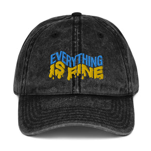 Everything if Fine Vintage Hat