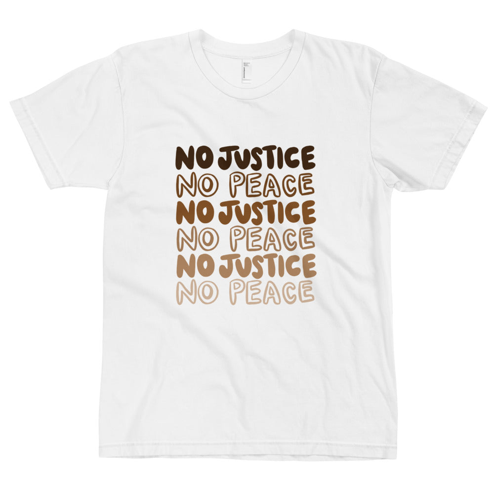 No Justice American Apparel T-Shirt