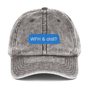 WFH & Chill Vintage Hat