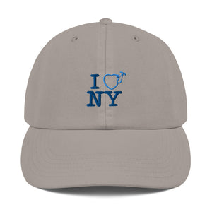 I Love NY Champion Dad Cap