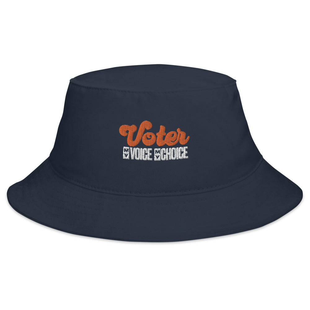Voter Embroidered Bucket Hat