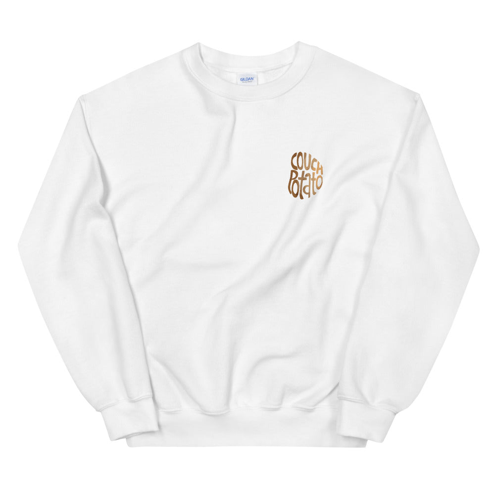 Couch Potato Unisex Sweatshirt
