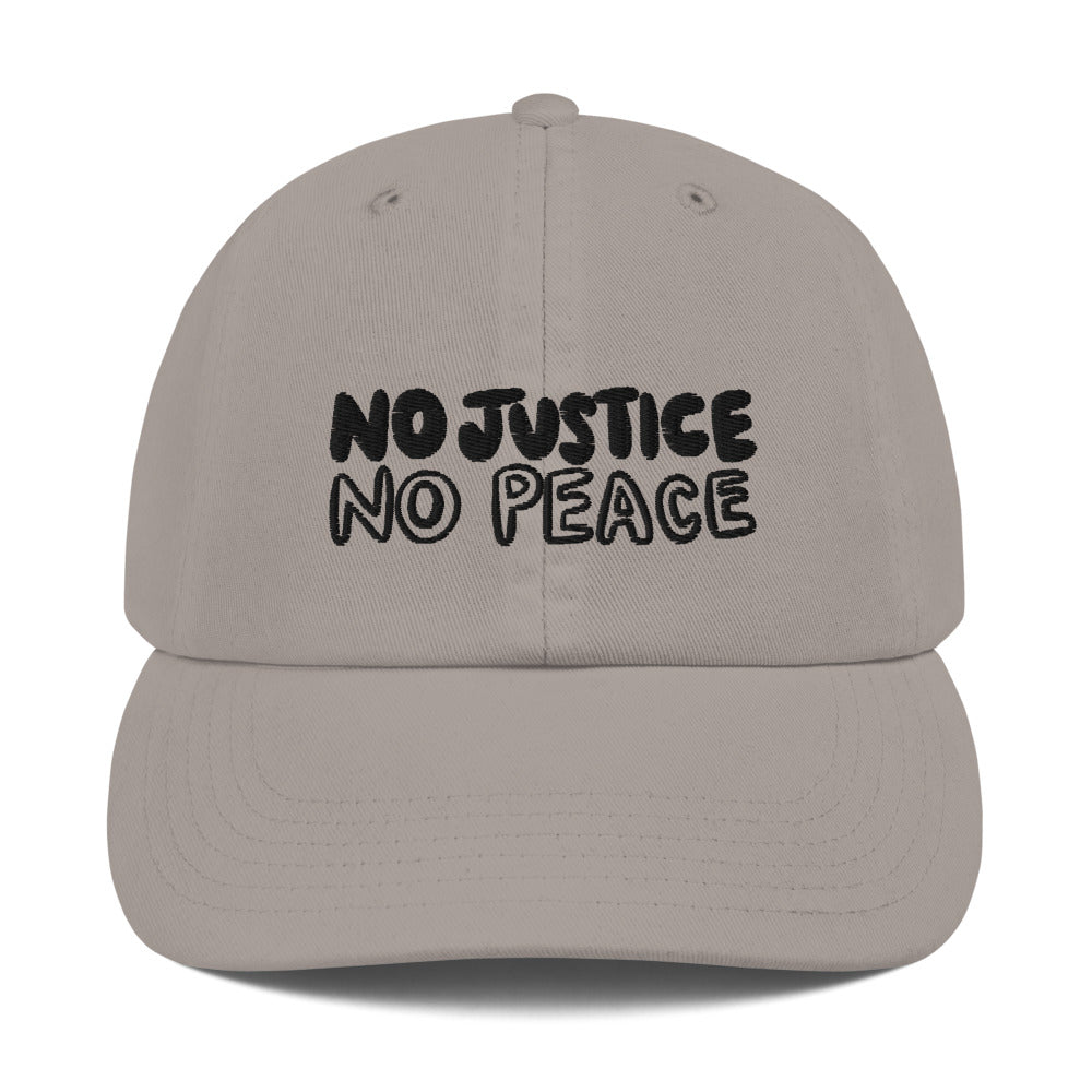 No Justice Champion Hat