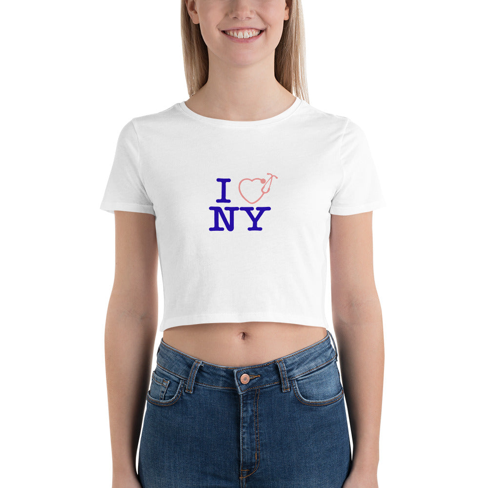 I Love NY Women's Crop Tee