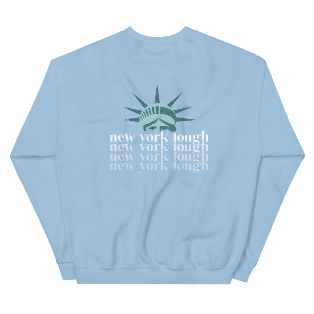 New York Tough Unisex Sweatshirt (Double Sided)