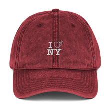 Load image into Gallery viewer, I Love NY Vintage Maroon Hat