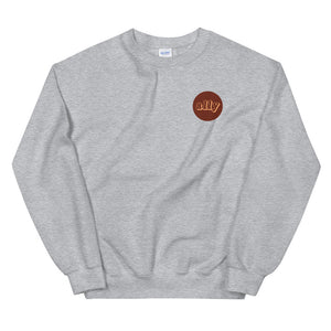 Stand Illustration Crewneck Sweatshirt (Unisex)