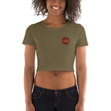 Load image into Gallery viewer, Stand Women's Crop Tee (Illustration)