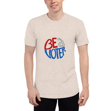 Load image into Gallery viewer, American Apparel Unisex Be A Voter Tee
