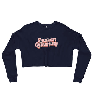 Queen Crop Sweatshirt