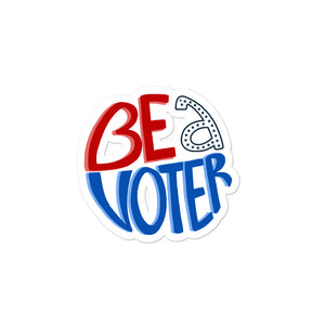 Be a Voter Stickers