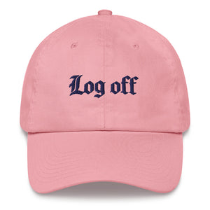 Log Off Dad hat