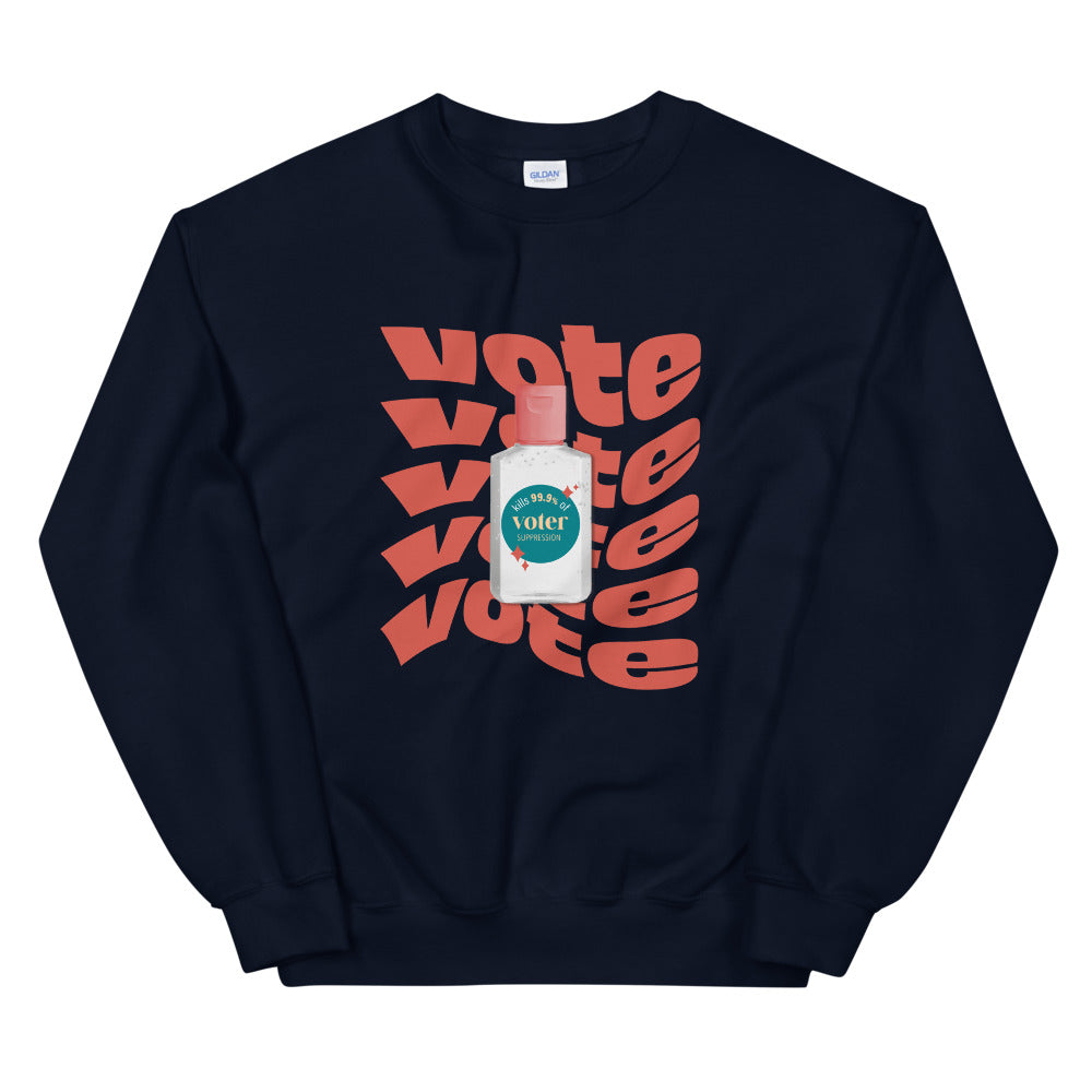 Kills Voter Suppression Sweatshirt