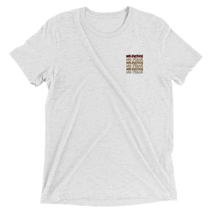 No Justice Embroidered T-Shirt
