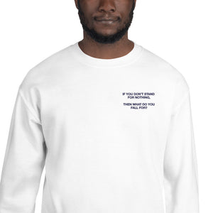 Stand Crewneck Sweatshirt Embroidered (Unisex)