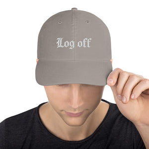 Log Off Champion Dad Hat