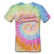 Load image into Gallery viewer, Queen Unisex Tie Dye T-Shirt - rainbow