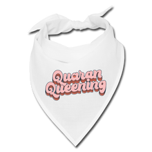Load image into Gallery viewer, Quaran Queening Bandana - white