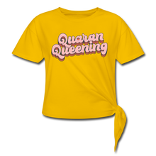Load image into Gallery viewer, Queen Knotted T-Shirt - sun yellow