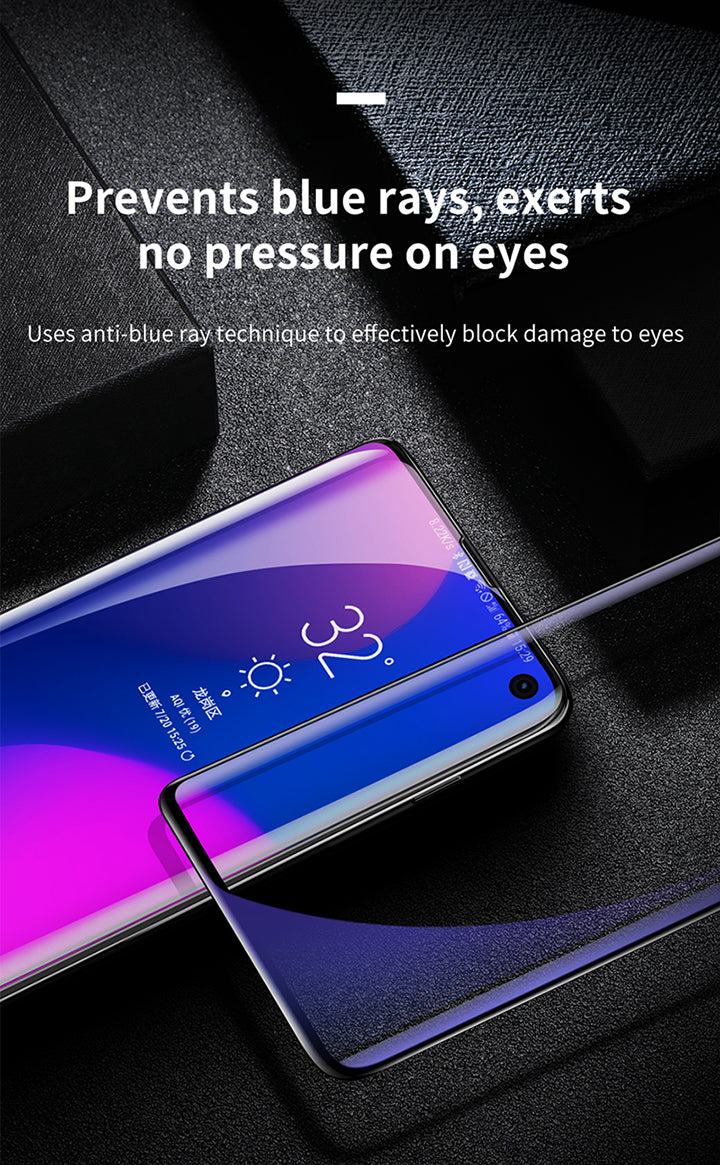 BASEUS 0.15mm full-screen curved anti-explosion soft screen protector for Samsung S10 / S10+