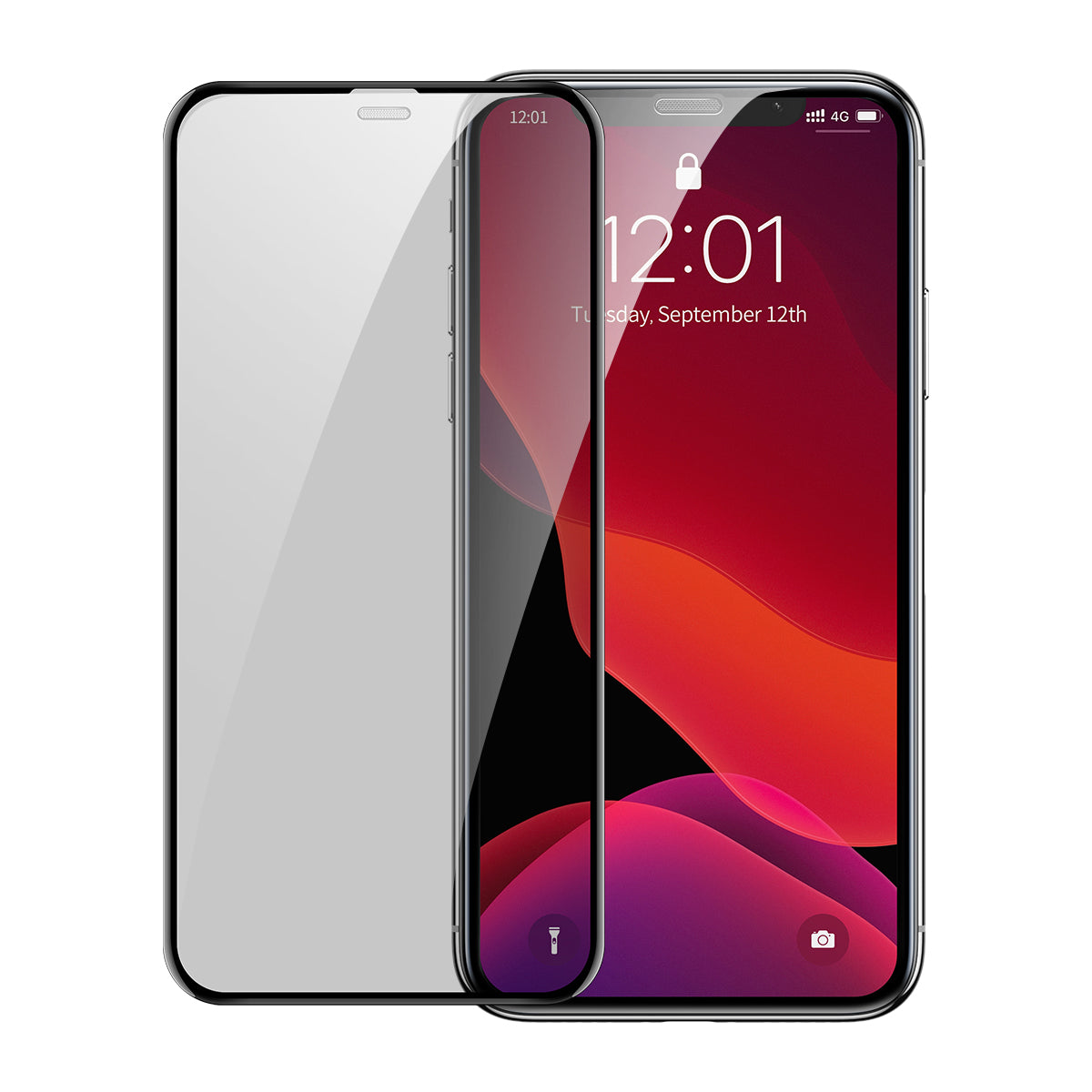 BASEUS Full-screen Curved Privacy Tempered Glass Film (Cellular Dust Prevention) (2pcs) for iPhone 11 Pro Max / 11 Pro / 11 / XS Max / XS / X / XR