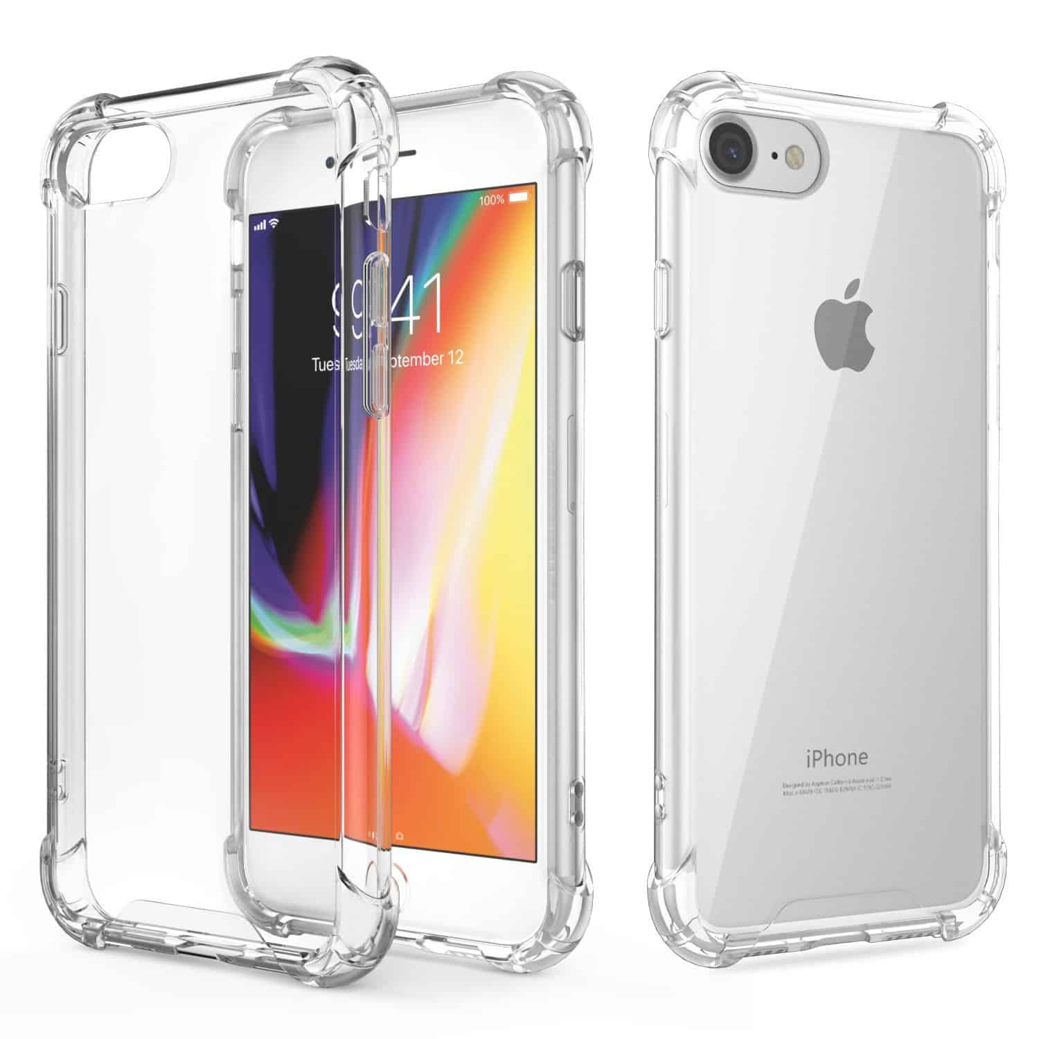 GOOSPERY Super Protect Clear Case for iPhone SE 2020 / iPhone 8 / 7
