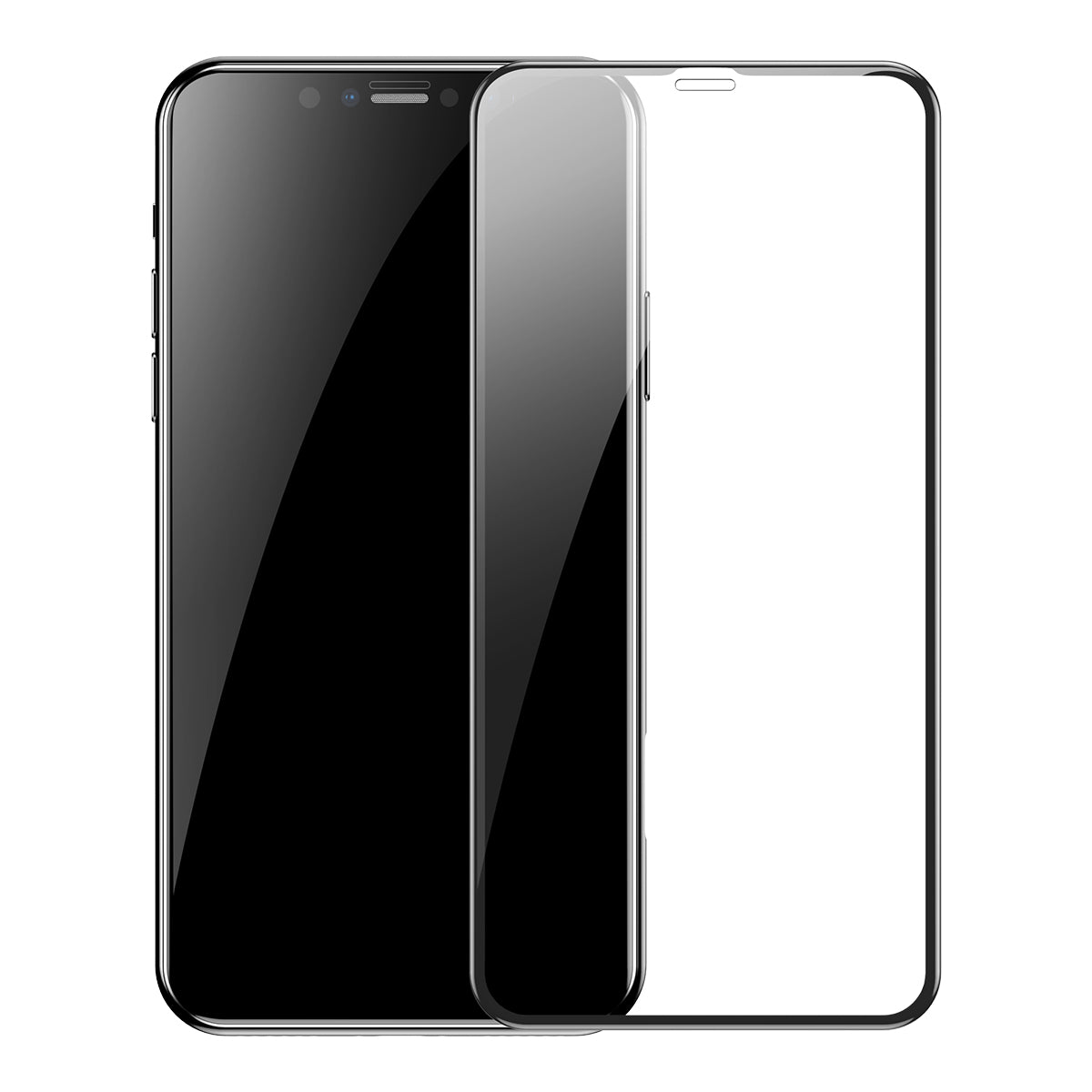 BASEUS 0.3mm Full-screen and Full-glass Tempered Glass Film (2 pcs) for iPhone 11 Pro Max / 11 Pro / 11 / XS Max / XS / X / XR