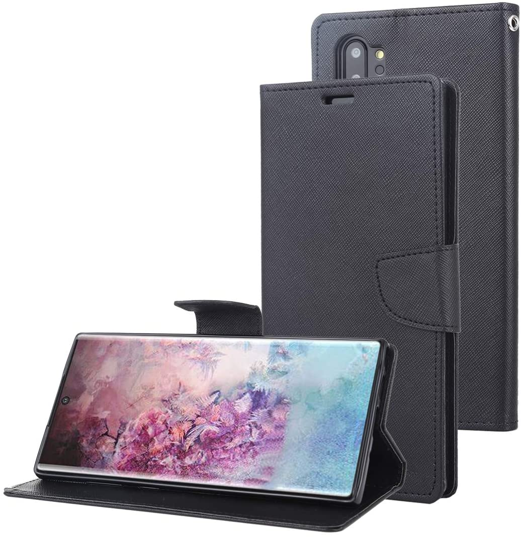 GOOSPERY Fancy Diary Wallet Case for Samsung Galaxy Note 10+ / Note 10