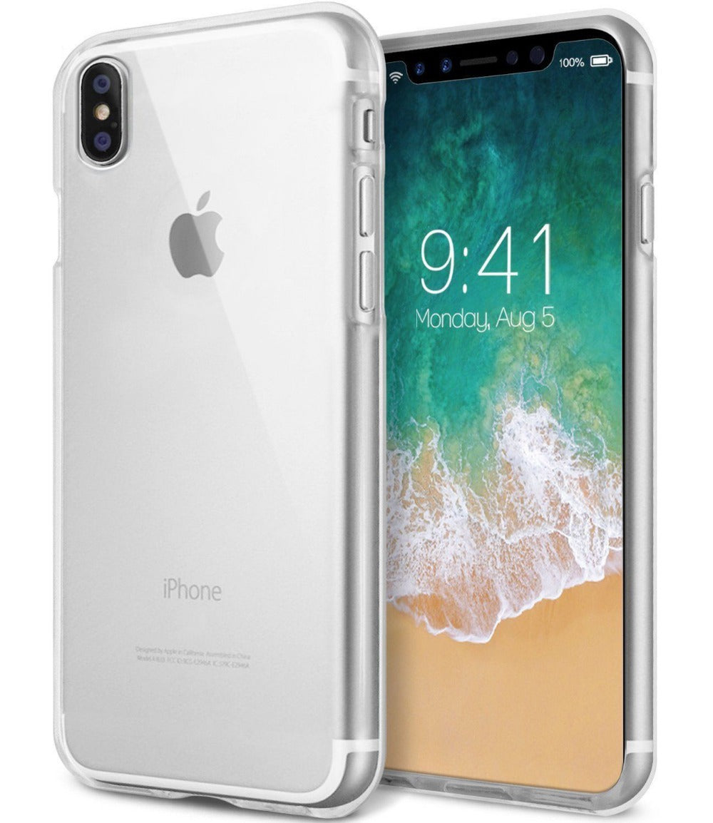 GOOSPERY Clear Jelly Case (Made in Korea) for iPhone XS Max / XR