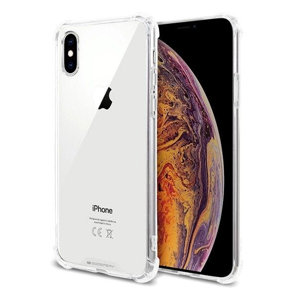 GOOSPERY Super Protect Clear Case for iPhone XS Max / XR