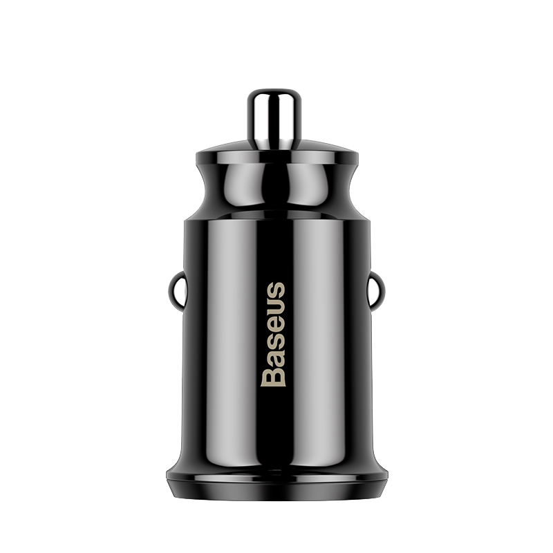 BASEUS Grain Car Charger Dual USB  (5V 3.1A)