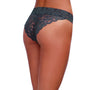 Dreamgirl Lace Panty with Front Criss-Cross Detail