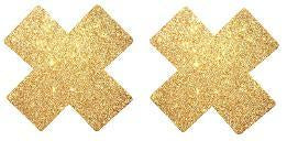 Glitter Cross Nipple cover - 1 pair